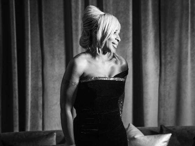 Proprio bene: Mary J. Blige sembra che sta vivendo la sua vita migliore, e ci piace