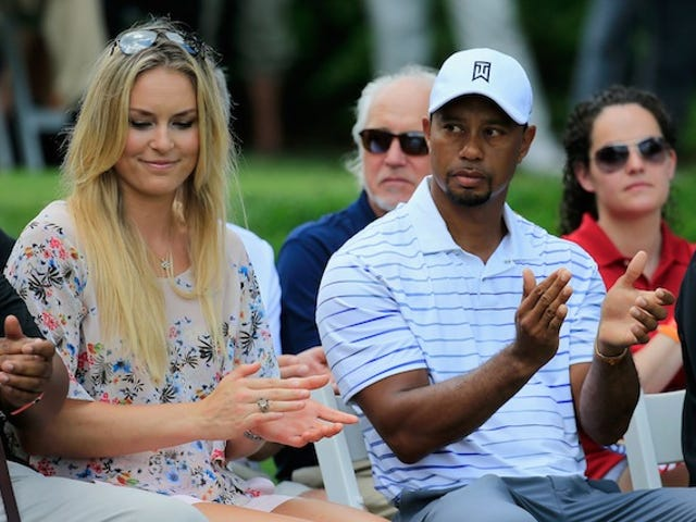 Lindsey Vonn Is Just As Dumb And Humorless As Her Boyfriend Tiger Woods