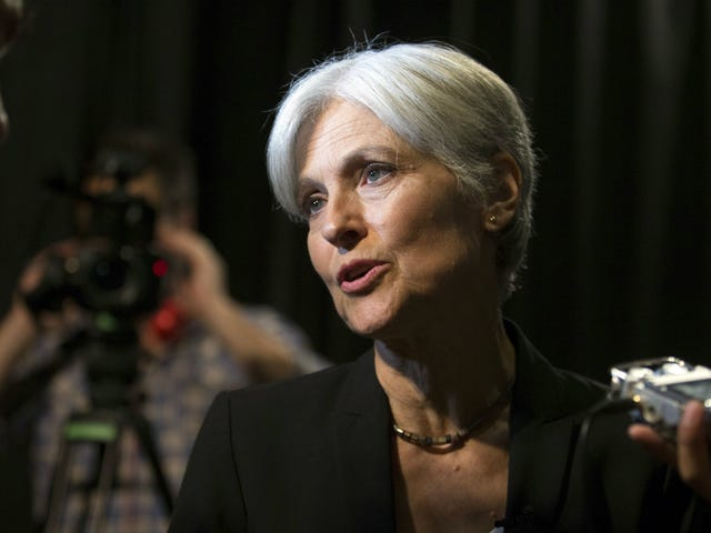 Jesus Electoral Christ, Jill Stein Actually Raised Over $2 Million To Fund a Vote Recount