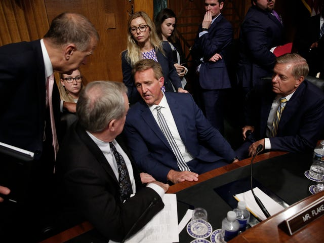 Senate Republicans Agree to Reopen FBI Probe Into Sexual Assault Claims Against Kavanaugh [Updated]