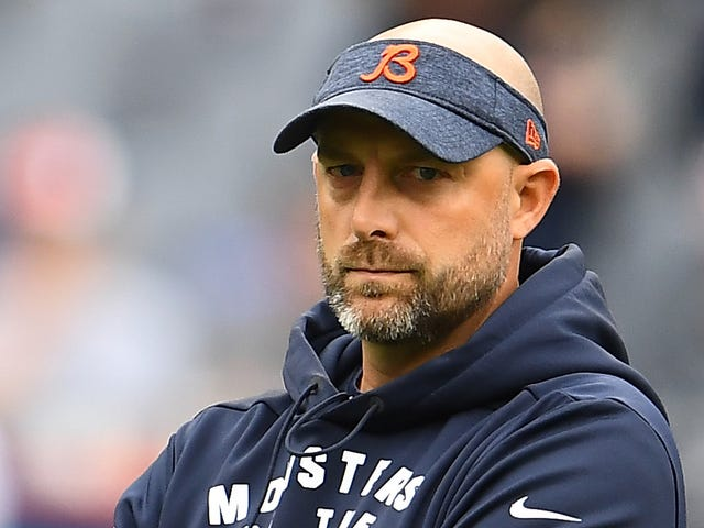 Matt Nagy Doesn't Reveal Anything About Roquan Smith's Mysterious Deactivation