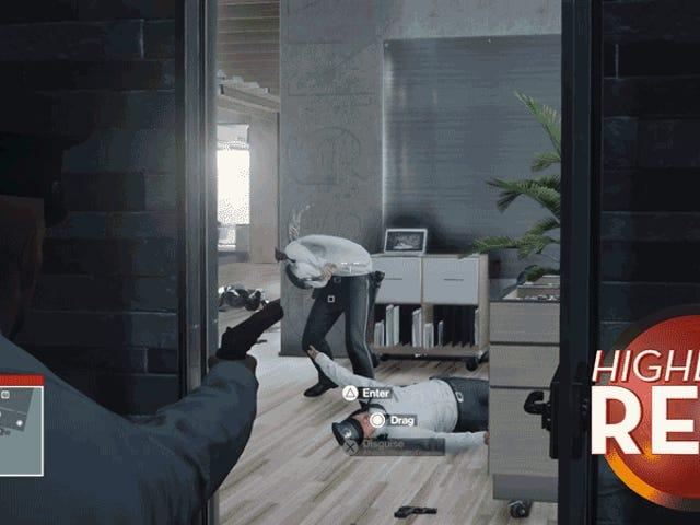 Glitchhed <i>Hitman</i> Guard直接从恐怖游戏中脱颖而出