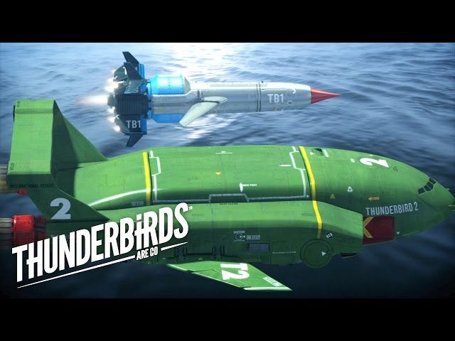 First Thunderbirds Trailer Is Filled With Gorgeous Models And CG Mayhem