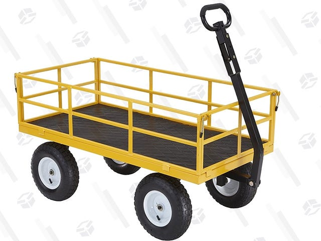 Haul Up to 1,200 Pounds In This $90 Gorilla Cart