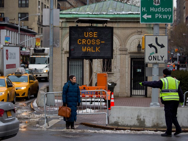 Pedestrian traffic deaths in NYC haven't been this low since 1910