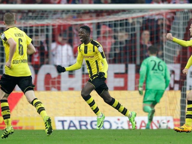 Dortmundin muut teini-ikäiset Slams-ovet Bayern Münchenissä saavuttavat Saksan Cup-finaalin