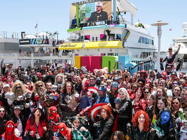 Vad spelar San Diego Comic-Con på?
