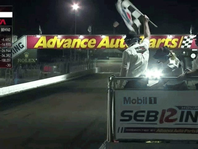 Owner Of Sebring's Second Place Team Was So Excited That He Called The Race 'Fucking Ace' On TV
