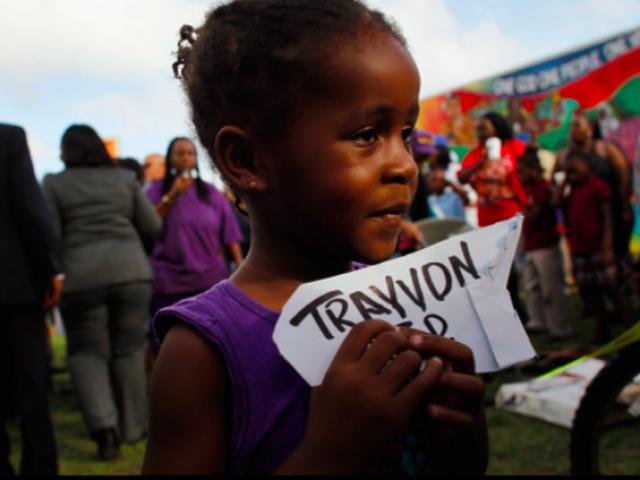 写真:黒人生活のための戦いにおける勇気の顔