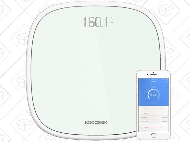 Track Your Weight Over Time With This $25 Bluetooth Smart Scale
