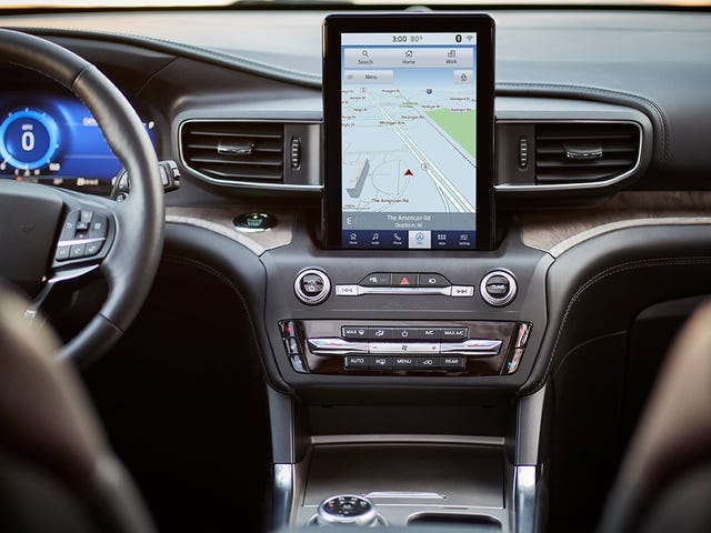 The Future of Your Car's Infotainment Screen Is Dystopian and Bleak