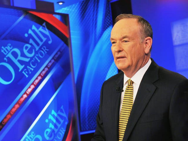 BillO'Reilly Casts Himself as the Spokesman for Whites