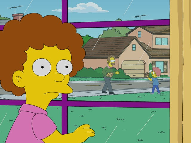 An intriguing Simpsons shifts focus to Todd Flanders, but can't follow through