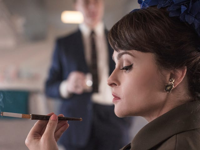 Helena Bonham-Carter's psychic put her in touch with Princess Margaret, apparently