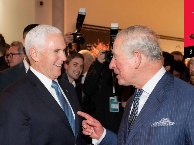 Prince Charles Sucks Just as Much as Mike Pence