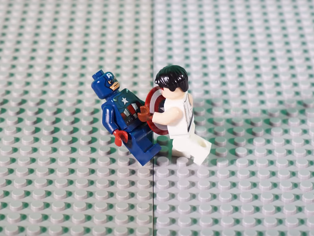Ryu From <i>Street Fighter</i> Fights Captain America in This Animation, Because It's Cool