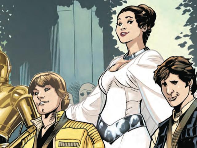 La princesse Leia veut être un héros dans la nouvelle bande dessinée mais les gens ne la laissent pas