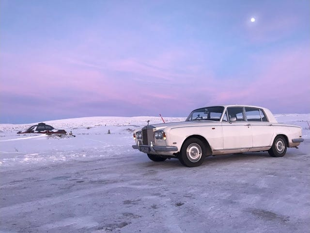 Rolls Royce to the Arctic circle
