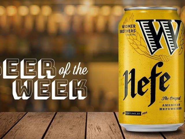 今週のビール:Widmer Brothers Hefeweizenは私が見逃したとは信じられない模範的なビールです