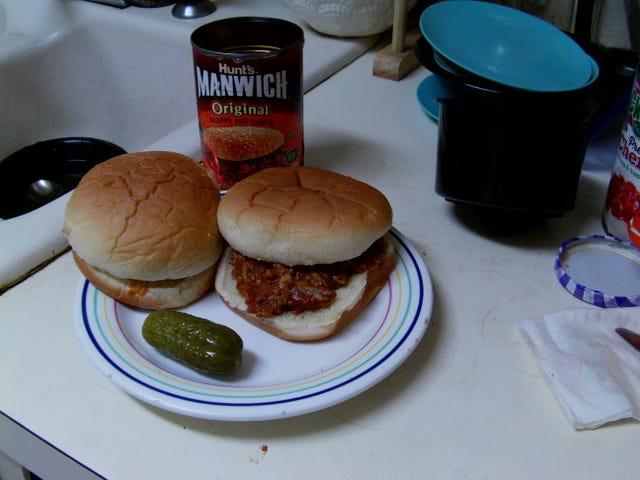 Sandwich of the Day: My Manwich!