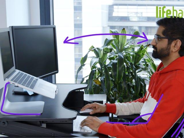 Hur du ergonomiskt optimerar ditt skrivbord för att undvika värk och smärta