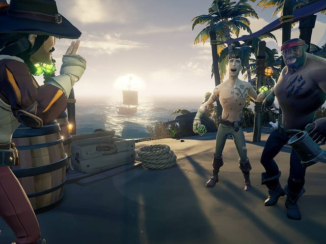 <i>Sea Of Thieves </i>Finally Gets Private Crews