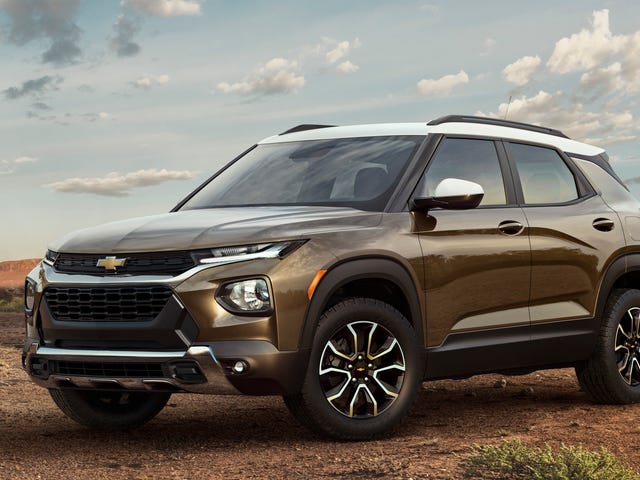 The 2021 Chevrolet Trailblazer Is Bigger Than A Trax But Costs Less