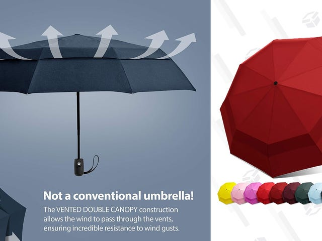 Spend $17 On An Umbrella That Won't Disintegrate After Two Uses