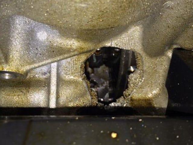 Así es como el motor # 8 de Starworks Car se hundió en Daytona