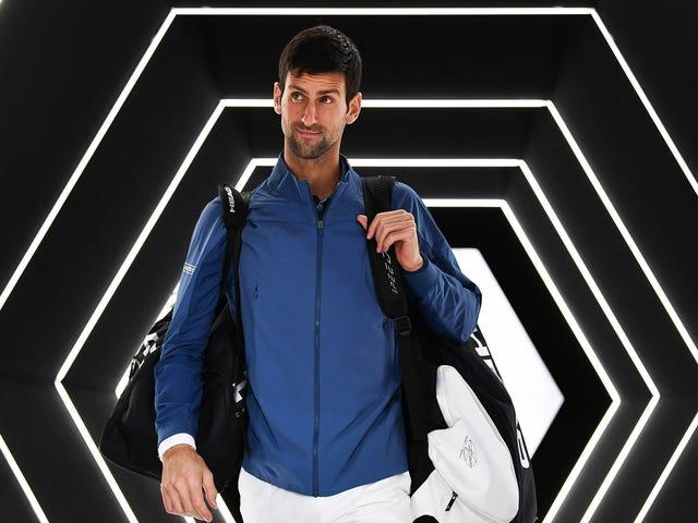 Novak Djokovic Is Yammering About Telepathy