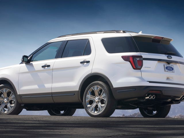 There May Be A Ford Explorer ST Coming Too: Report