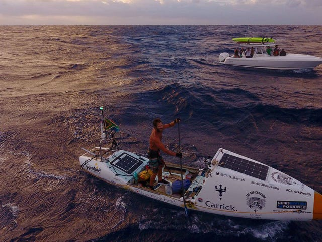 This Maniac Just Crossed the Atlantic on a Goddamn Paddleboard