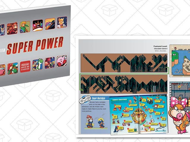 Keep the SNES Nostalgia Flowing With This $10 Paperback