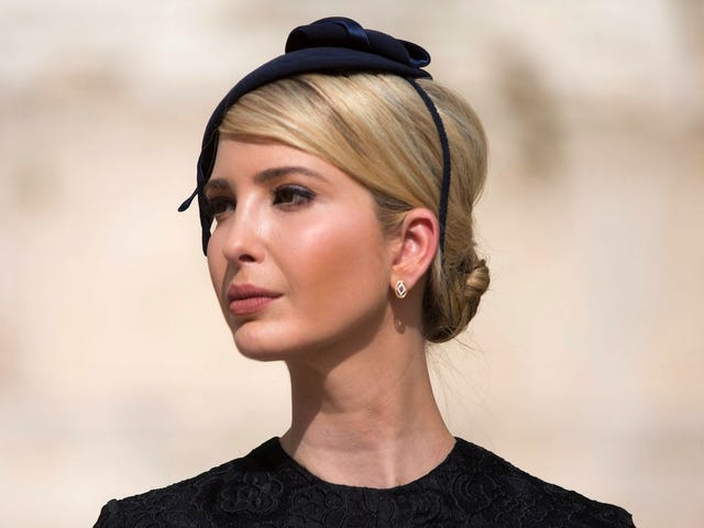 Now Ivanka Wants to End Human Trafficking