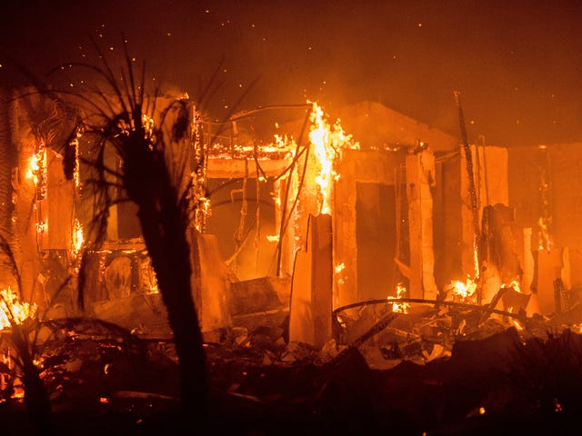 Devastating Wildfires Continue to Wreak Havoc Across Southern California