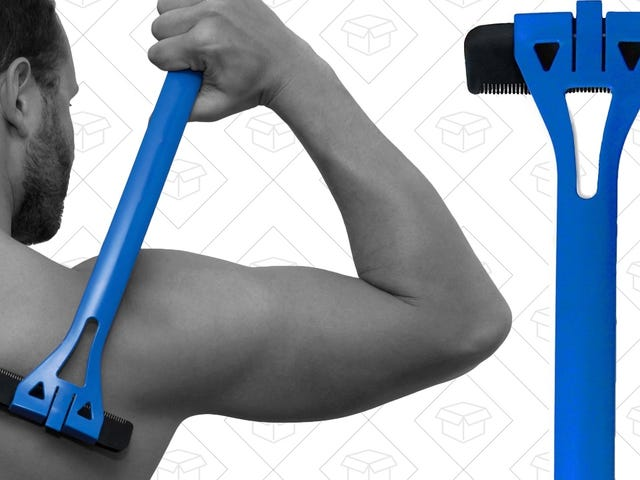 Amazon's Shearing A Few Bucks Off the Price of the BaKblade Back Hair Shaver