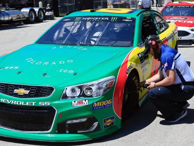 Το NASCAR Killjoys δεν θα αφήσει το ζιζάνιο Biz να διατηρήσει το λογότυπό του στο Car Race του Carl Long [Ενημέρωση]