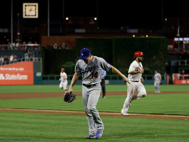 The Dodgers Waved The White Flag