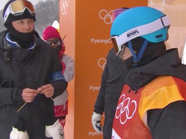 Los atletas de Finlandia están tejiendo su camino a través del estrés olímpico