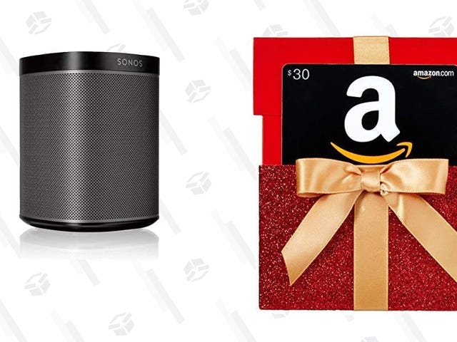 Buy a Couple of Sonos Play:1s, Get a $30 Amazon Gift Card