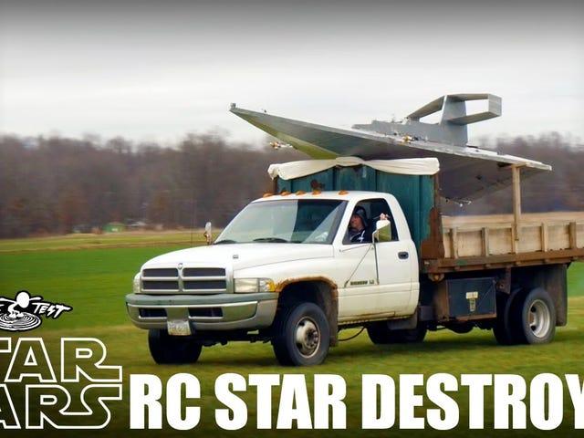 Så du vil flyve en stjerne ødelægger ...