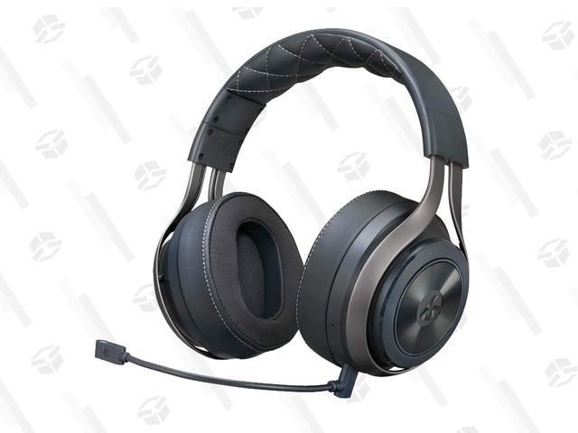 Ten zestaw słuchawkowy do gier LucidSound jest obecnie w najniższej cenie