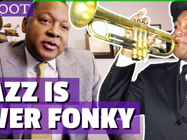 Wynton Marsalis พูดถึงการแข่งขันในอเมริกาดนตรีแจ๊สและเพลง 'Ever Fonky'