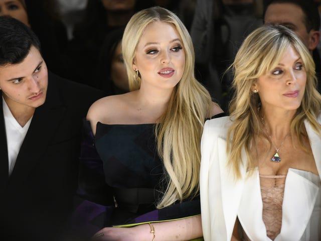 Tiffany Trump και Εταιρεία Πάρτε την εβδομάδα μόδας