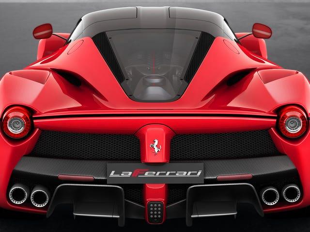 Ferrari-filer Patent til elektrisk turbo, men det er noget usædvanligt [rettet]