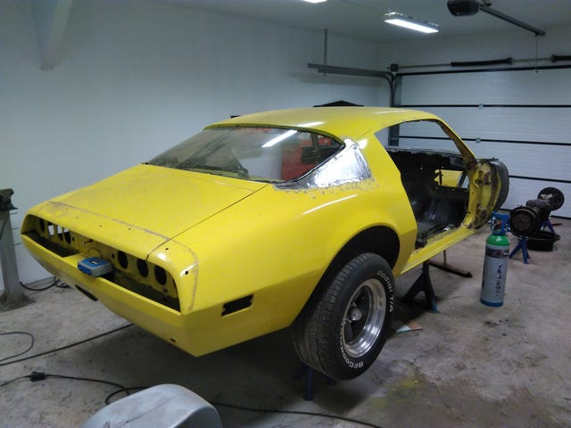 How to rebuild your big window Camaro/Firebird into a small window car