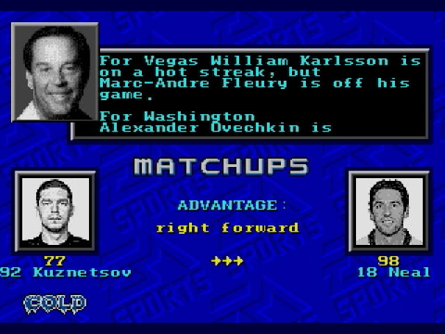 It's Here: Your Stanley Cup Final Game 1 Simulation In NHL '94