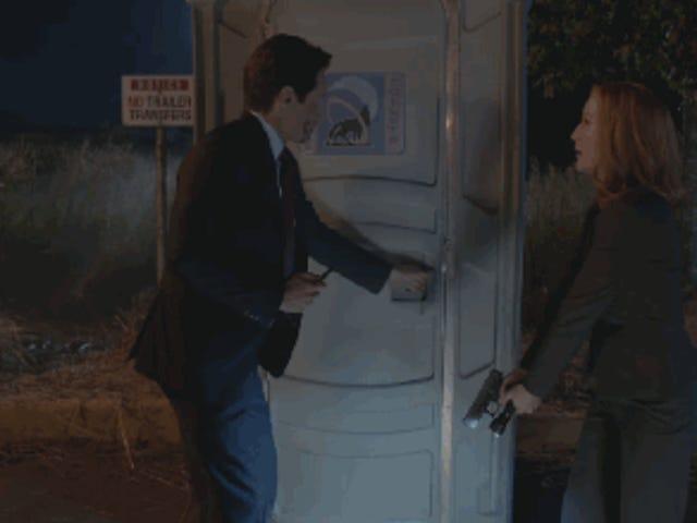 Gizli Dosyalar 10.3: Mulder ve Scully Were-Monster ile Tanışıyor
