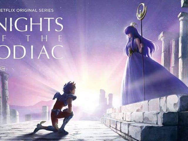 Tässä se on uusi Saint Seiyan: Zodiac Knightsin perävaunu