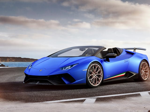 Feel Expensive Wind In Your Hair With The 2019 Lamborghini Huracán Performante Spyder